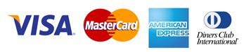 Imagem com logo de operadoras de cartão