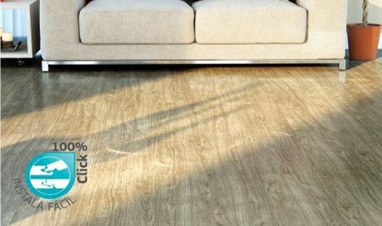 Sala com piso laminado Durafloor New Way