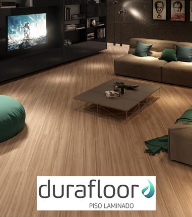 Ambiente com piso laminado Durafloor no RJ