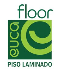 logo piso laminado Eucafloor
